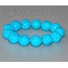 Браслет из бирюзы 'Голубой шар'