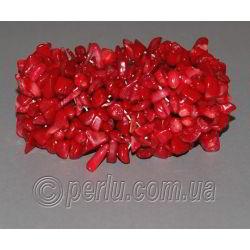 Браслет из натурального красного коралла 'Кораллиссимо'