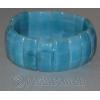 Браслет из натурального камня голубого кварца 'Синева небес'