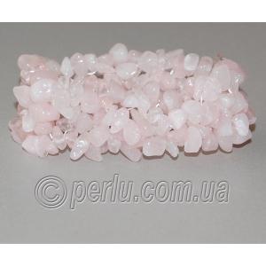 Браслет из натурального розового кварца 'Нежный кристалл'