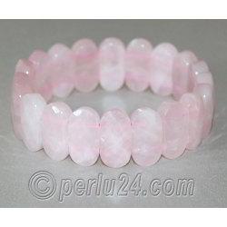 Браслет из натурального розового кварца 'Романтичный'