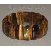Браслет из натурального камня тигрового глаза 'Стильный'