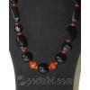 Бусы из натуральных камней агата и сердолика 'Орижиналь'