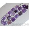 Бусы из натурального камня аметиста 'Фиолетовый кварц'