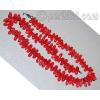 Бусы из натурального красного коралла 'Коралловые капли'