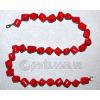 Бусы из натурального красного коралла 'Мое намисто'
