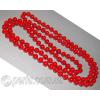 Длинные бусы из красного коралла 'Энергия молодости'