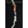 Бусы из натуральных камней самоцветов 'Радужные'
