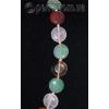 Бусы из натуральных камней самоцветов 'Счастливый колорит'