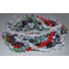 Бусы из камней самоцветов в одну нить 'Калейдоскоп'