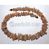 Бусы из натурального необработанного янтаря 'Радость бытия'