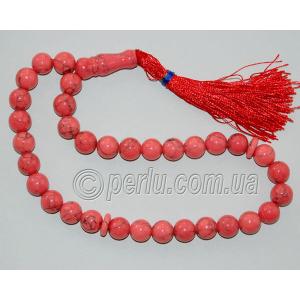 Четки из розового коралла №40285