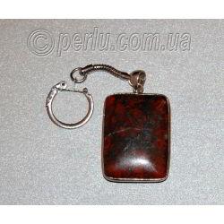 Брелок для ключей из обсидиана №1095