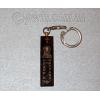 Брелок для ключей из натурального обсидиана №23271