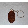 Брелок для ключей из натурального обсидиана №23273