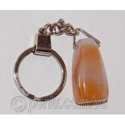 Брелок для ключей из сердолика №58894