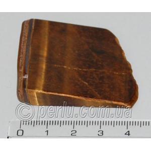 Кристалл натурального камня тигровый глаз №67321