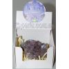 Кристалл натурального камня аметист №70402