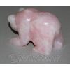 """Сувенир из натурального камня розовый кварц """"Большая медведица"""""""