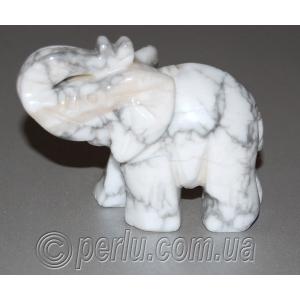 Сувенир из натурального камня говлит 'Индийский слон'