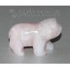 Сувенир из натурального камня розовый кварц 'Сила любви'