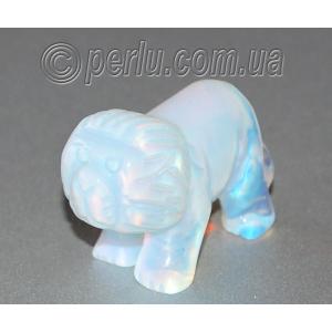 Сувенир из лунного камня 'Призрачный лев'