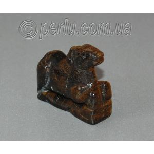Сувенир из натурального камня тигровый глаз 'Энергия и защита'