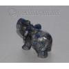 Сувенир из натурального камня лазурита 'Африканский слон'