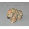 Сувенир из натурального камня яшмы унакит 'Сила и быстрота'