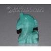 Сувенир из натурального камня нефрита 'Волшебный дельфин'